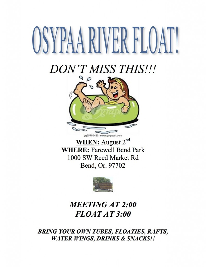 RIVER FLOAT AUG 2